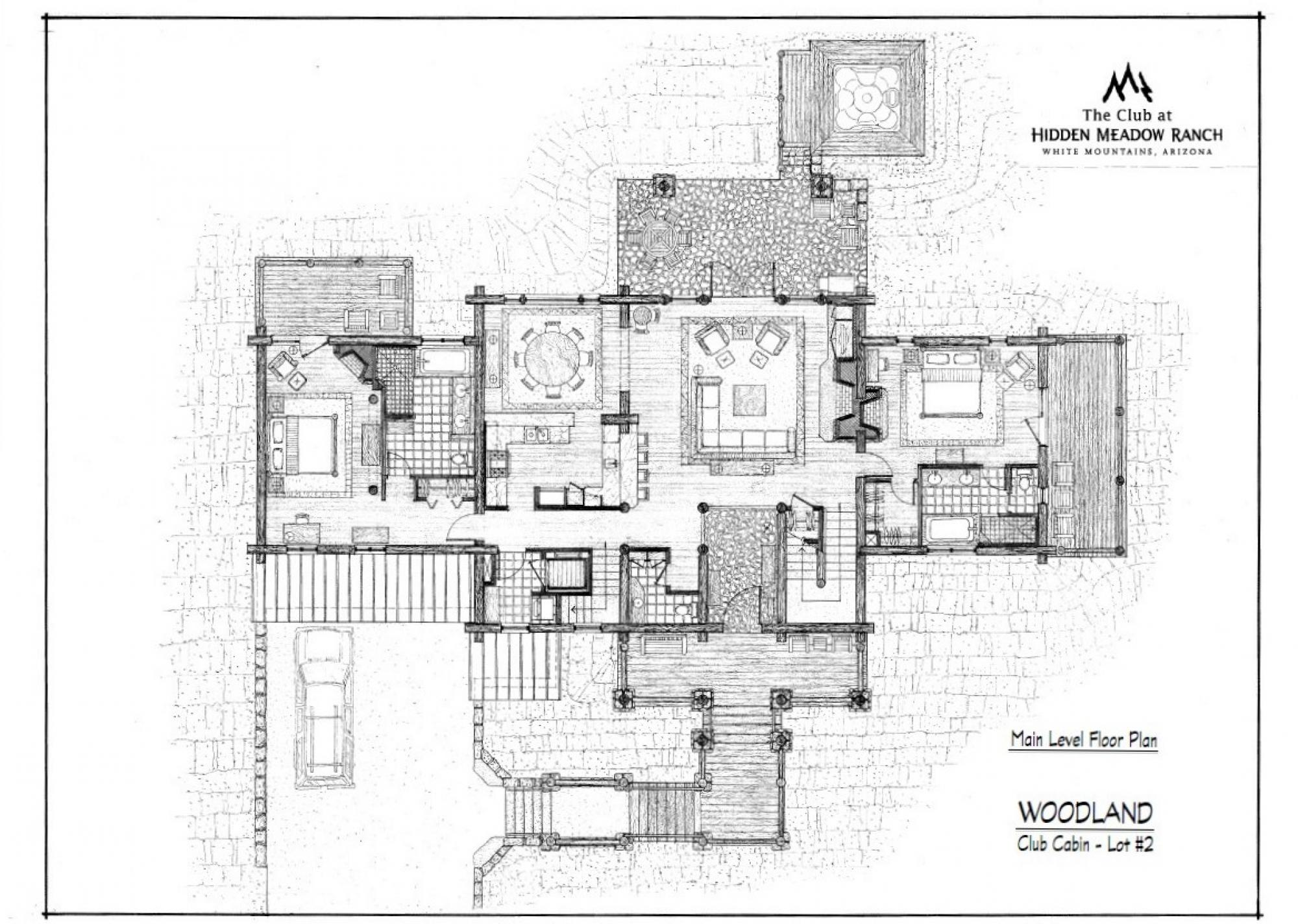Example Floorplan - The Club at Hidden Meadow Ranch