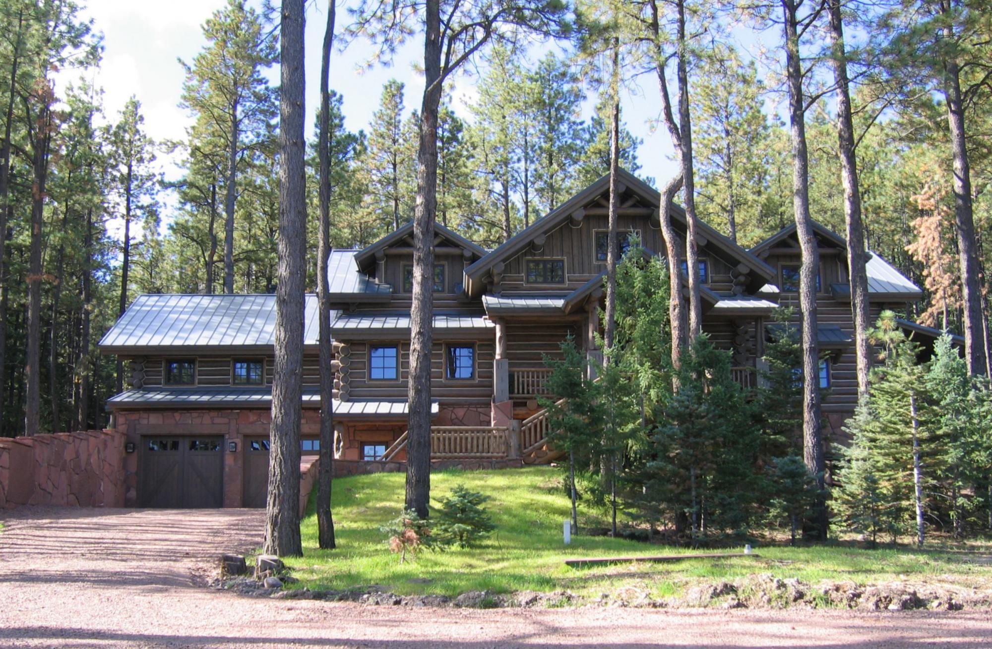 Woodland Cabin Exterior