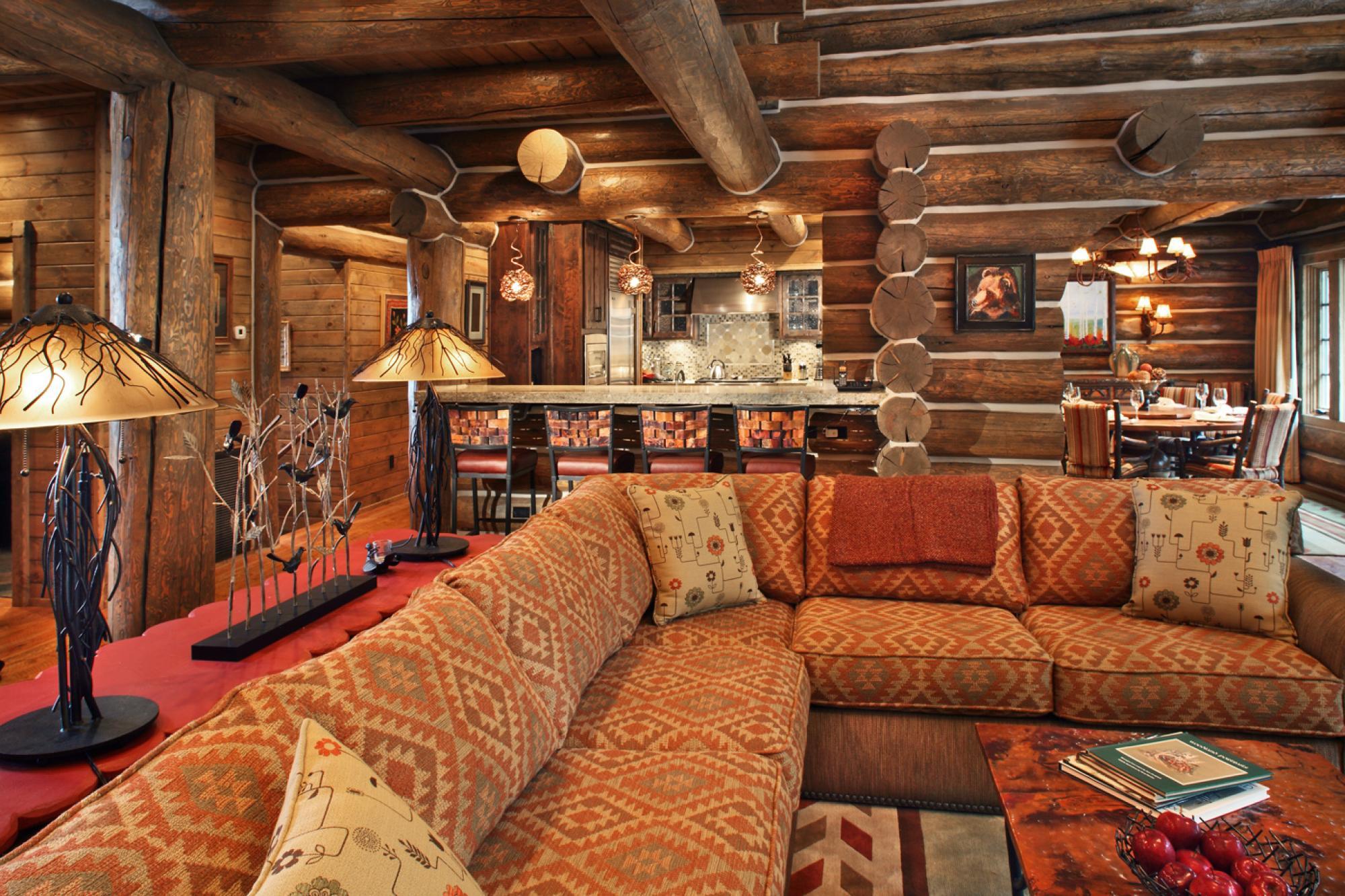 Woodland Cabin Kitchen