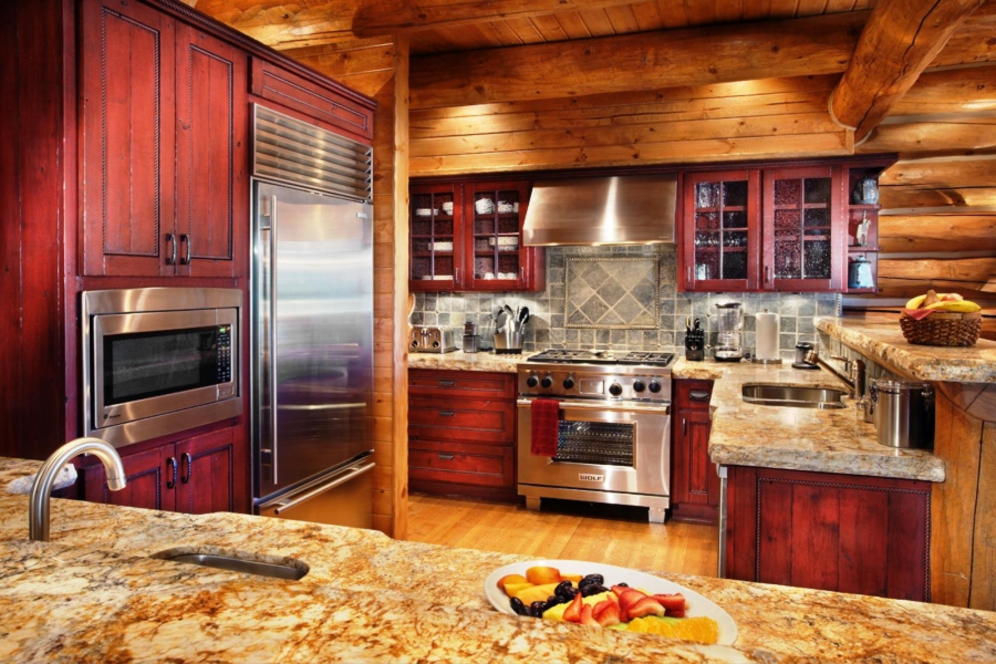 Reata Cabin Kitchen