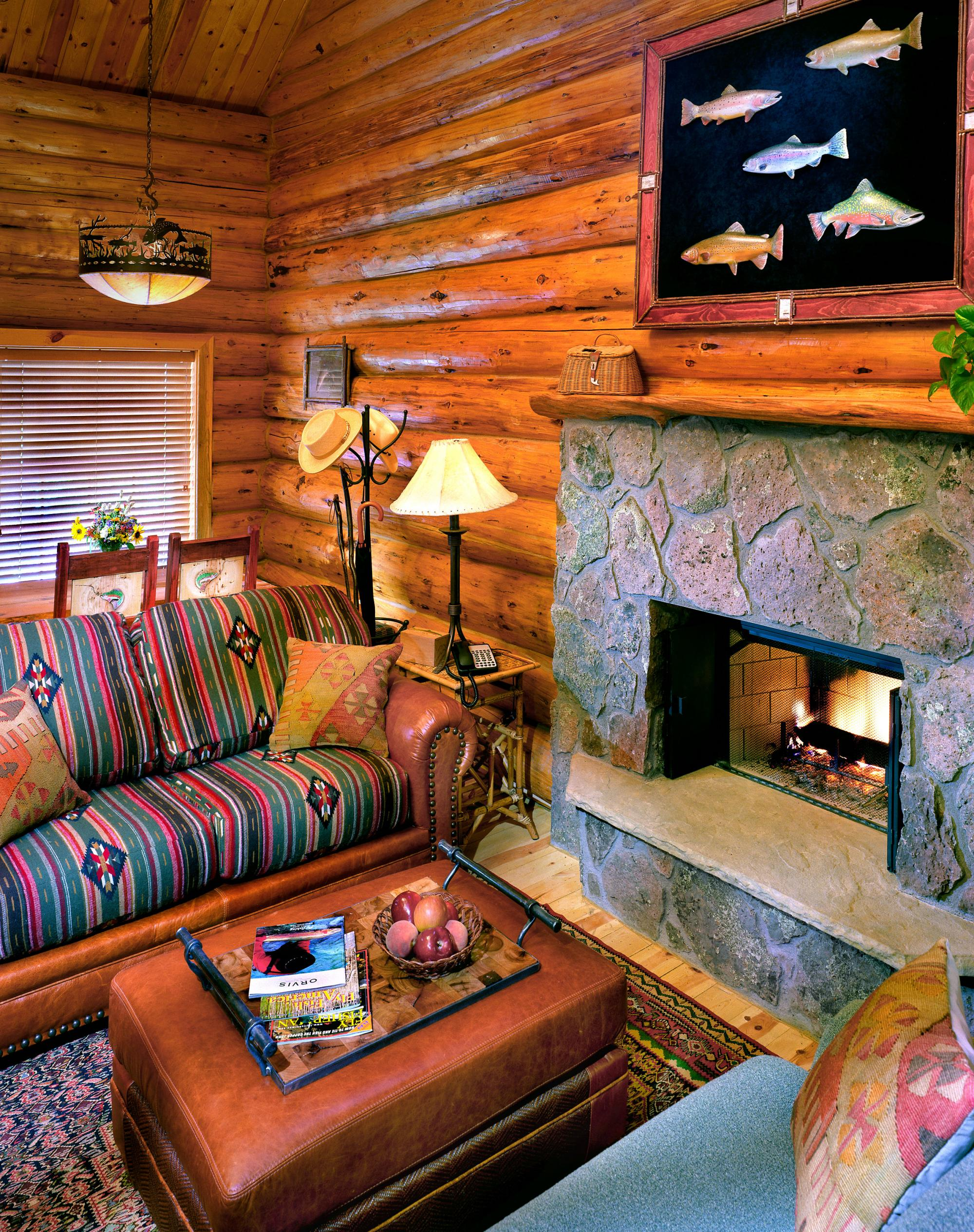 Hidden Meadow Ranch Cabin Interior