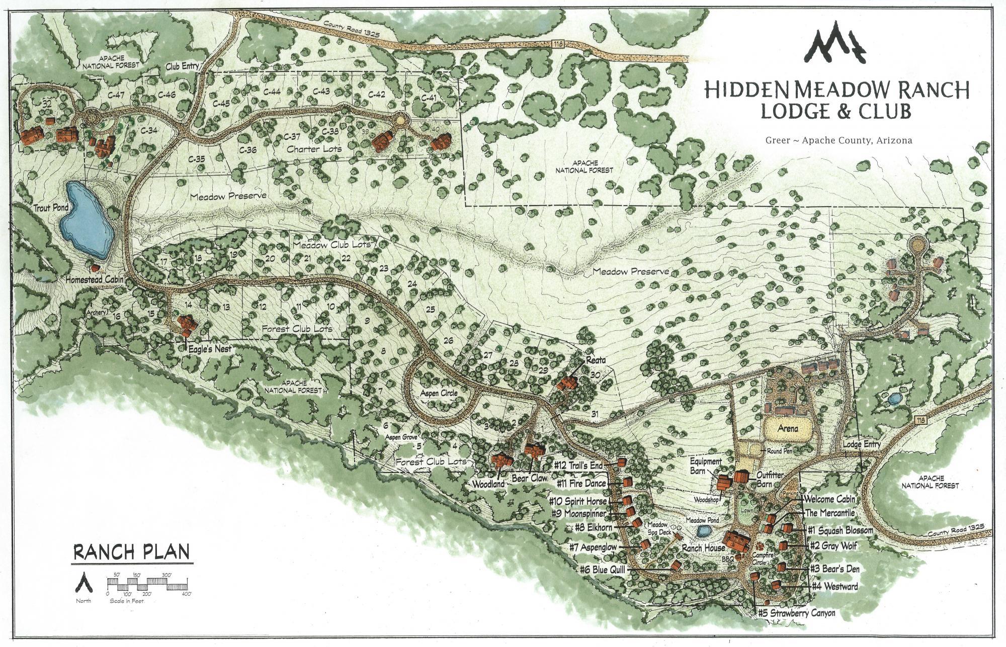 The Club at Hidden Meadow Ranch Plan
