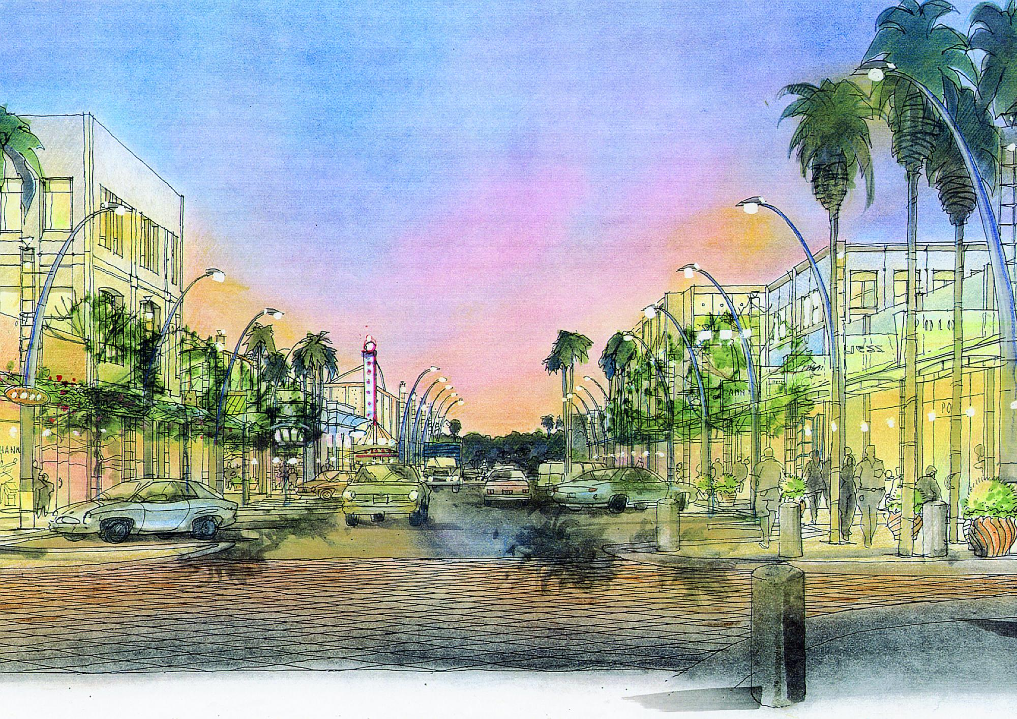 Kierland Commons Main Street Rendering