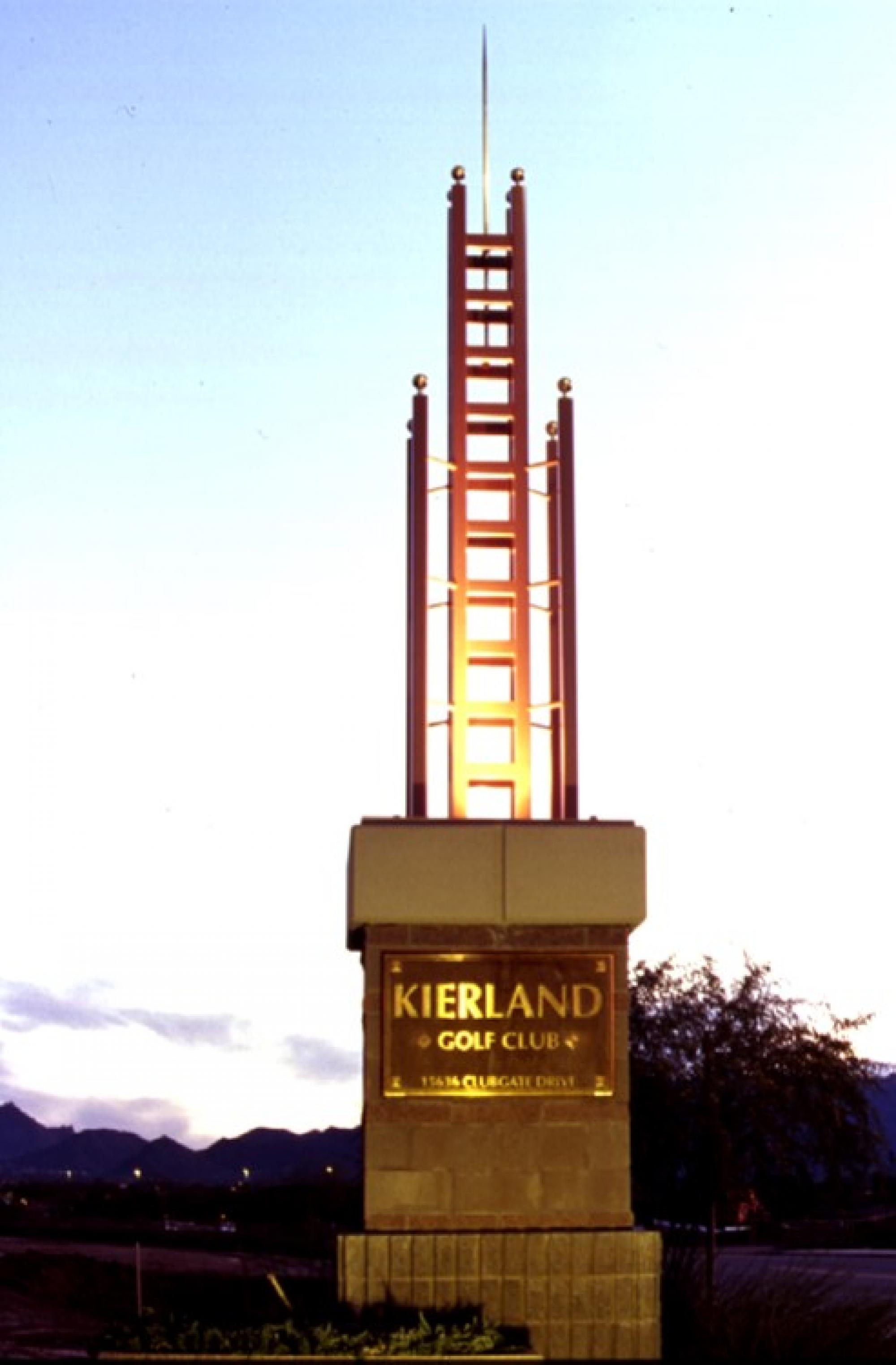 Kierland Golf Club Entry Monument