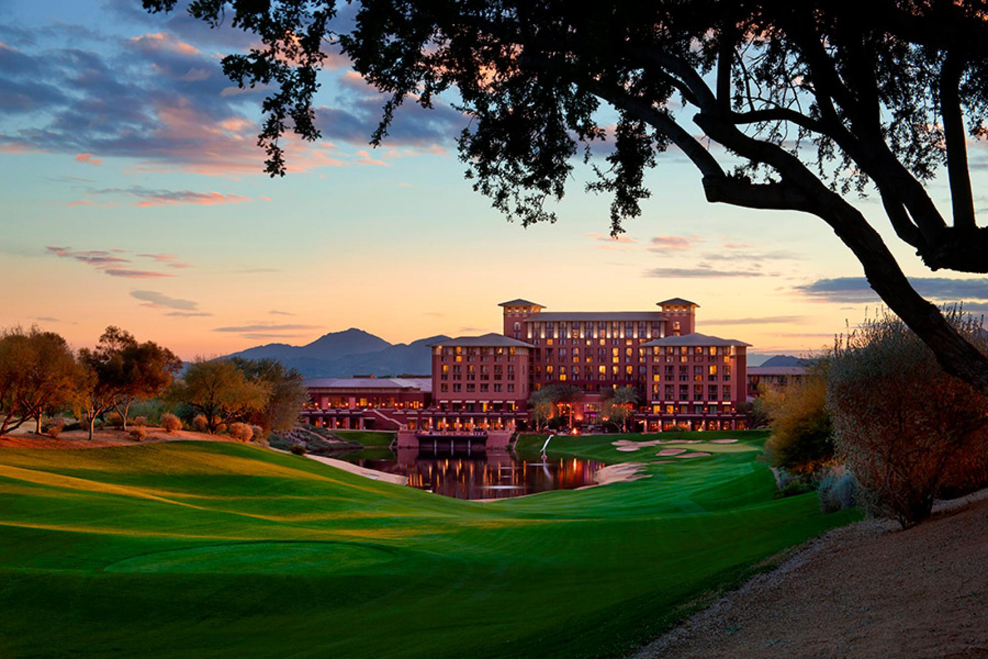 Westin Kierland Resort Fairway Sunset